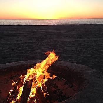 Winter In La #dockweiler #beach by Christa Milster