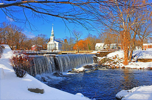 Winter in Milford by Cathy Leite Photography