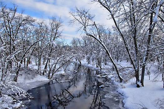Winter in New England  by Sandy Mallet