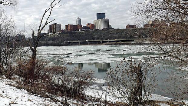 Winter In Pittsburgh by Joyce  Wasser