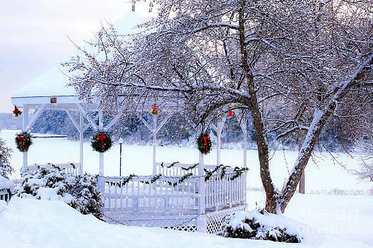 Brenda Giasson - Winter in Richmond Maine