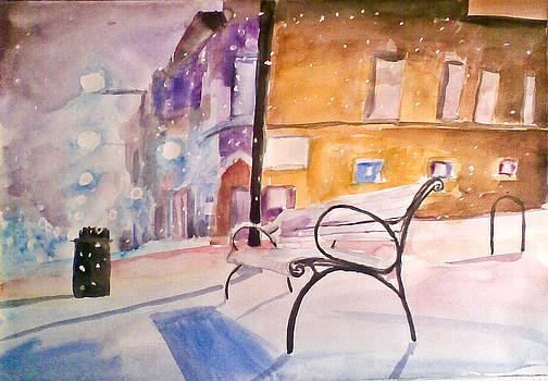 Winter In The City by Vaidos Mihai