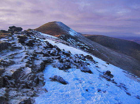 Winter in the Galtees by Adrian Hendroff