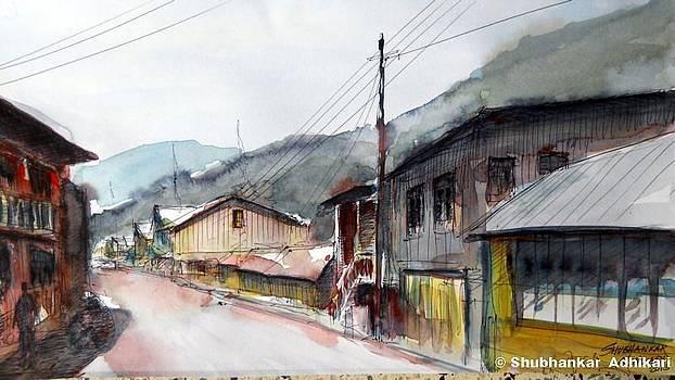 Winter in the hills by Shubhankar Adhikari