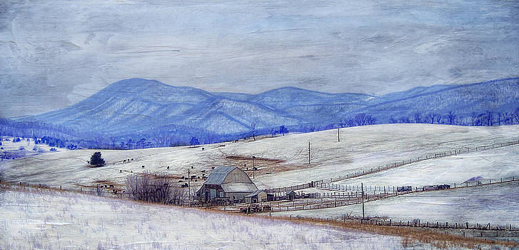 Winter In The Valley by Kathy Jennings