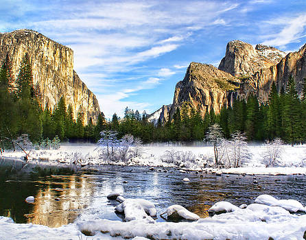 Winter in Yosemite by Abram House
