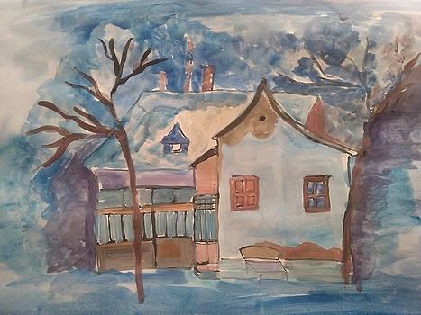 Winter is coming by Farfallina Art -Gabriela Dinca-