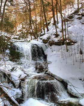 Gene Walls - Winter Is Loosing Its Grip On Tuscarora Falls