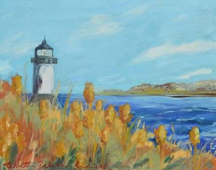 Winter Island 10X8 by Kendra Kurth Clinton