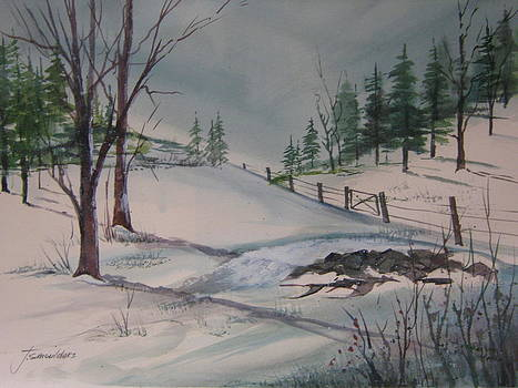 Winter Landscape by John Smeulders