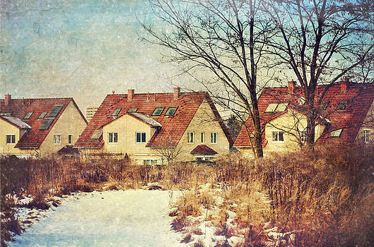 Gynt - Winter landscape with houses