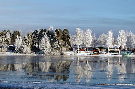 Winter landscapes by Tage Persson