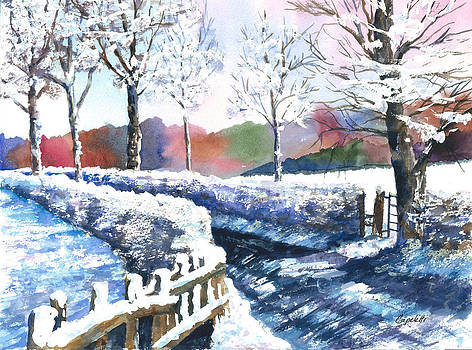 Winter Lane by Barb Capeletti