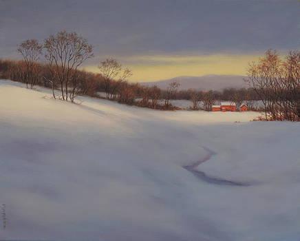Winter Light by Barry DeBaun