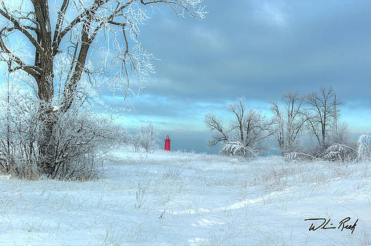 William Reek - Winter Lighthouse