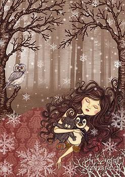 Winter lullaby by Snezana Kragulj
