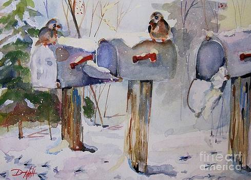 Winter Mail by Delilah  Smith
