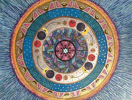 Winter Mandala by Aileen Heymach