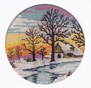Winter by Mona  Bernhardt-Lorinczi