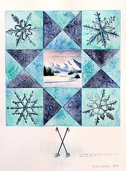 Gina Gahagan - Winter Montana/Ohio Square. full picture
