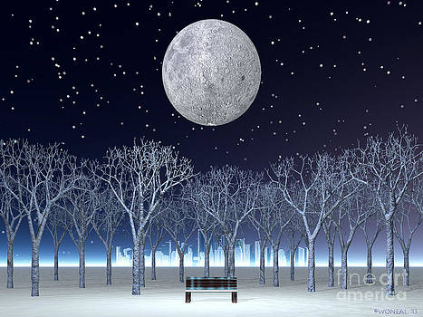 Walter Oliver Neal - Winter Moon