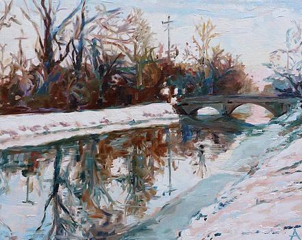 Winter Morning by Azhir Fine Art
