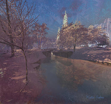 Winter Morning at South Farthing by Kylie Sabra