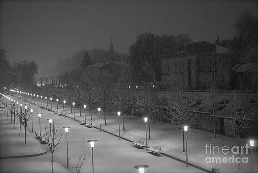 Winter Nights Vitoria Spain Version 3 by Ty Cook