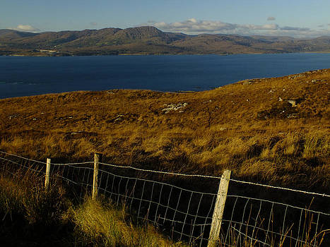 Winter on Bantry Bay by Phil Darby