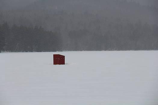 Winter on Chororua Lake by Jeffrey Akerson