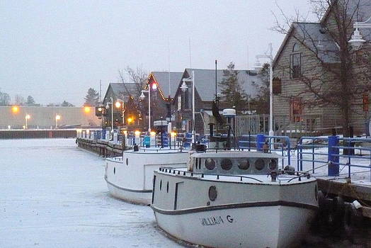 Winter on Our River by Jan Scholke