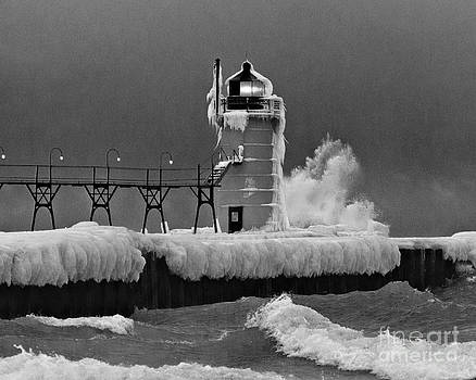 Winter on the Great Lakes by John Remy