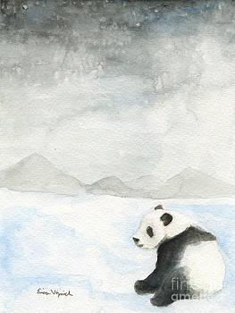 Winter Panda by Erica Vojnich