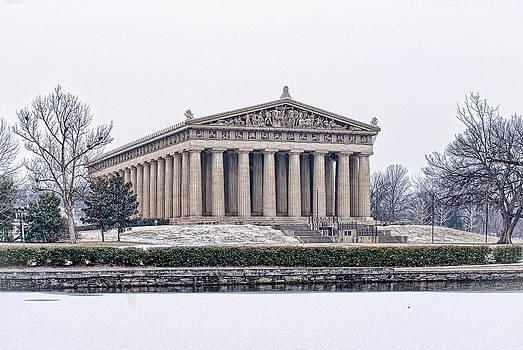 Winter Parthenon by Patrick Collins