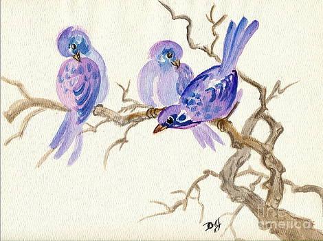 Winter Purple Delight by Dale Jackson