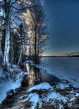 Winter Reflections by Jeff Clark
