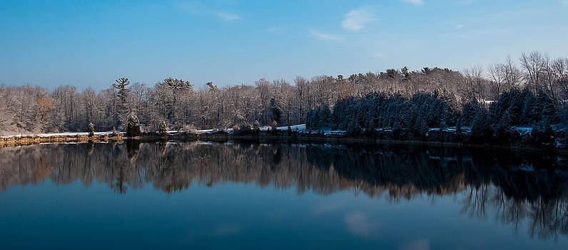 Winter Reflections  by Todd Heckert