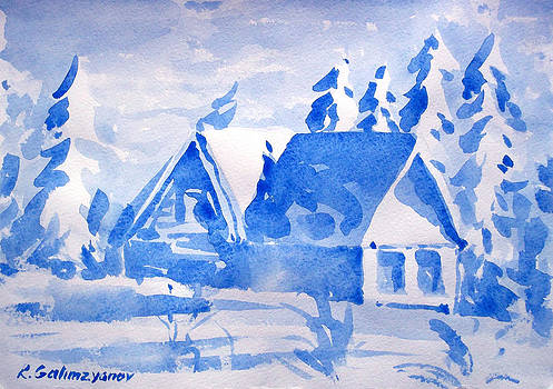 Winter by Rimzil Galimzyanov
