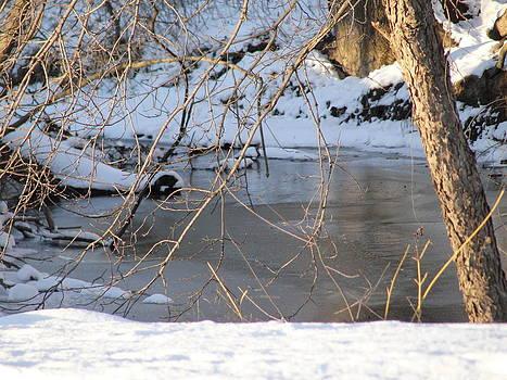 Winter River by Steph Maxson