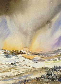 Winter Scene by Antonio Bartolo