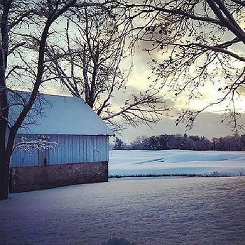 #winter #snow #barn by Brian Harris