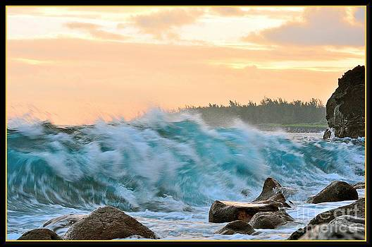 Winter Storm Wave by Hans R Hemken
