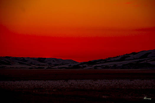 Winter Sunrise in the Valley by Andrea Lawrence