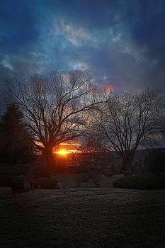 Winter Sunset by Dan Quam