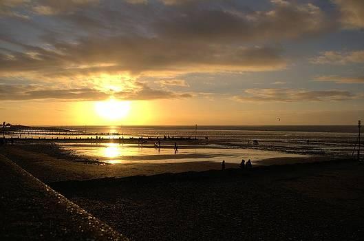 Winter Sunset by Dave Woodbridge