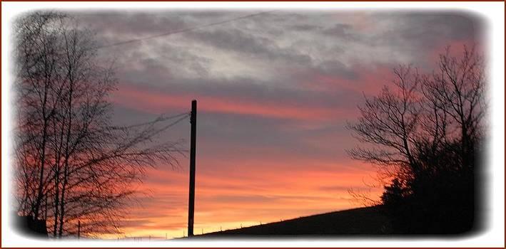 Winter Sunset by Geoff Cooper