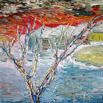 Vadim Levin - Winter Sunset