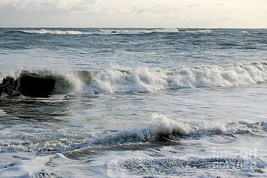 Winter Surf  by Eunice Miller