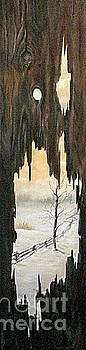 Winter Through the Grain by Anna-maria Dickinson