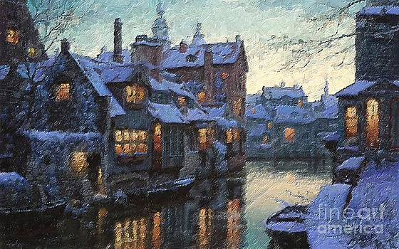 Winter Town by Max Cooper